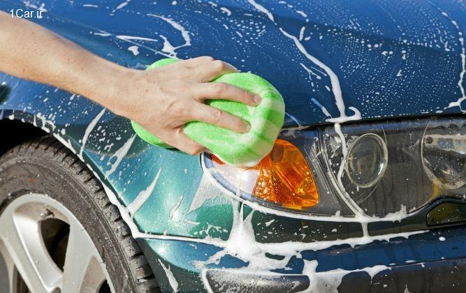 نگهداری از رنگ خودرو