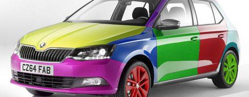 رنگ های پرفروش ماشین